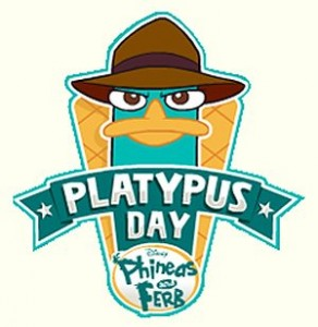 Phineas & Ferb 'Platypus Day' Celebration coming March 3rd 1