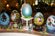 Easter Eggs on Display at Disney's Grand Floridian Resort & Spa