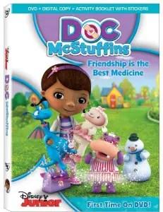 Doc McStuffins: Friendship is the Best Medicine DVD Giveaway 1