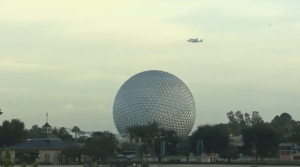 Final Flight of Space Shuttle Endeavour Makes Special Flyover at Walt Disney World 1