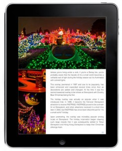 Now Available - Disneyland Holiday Touring Plans E-Guide 2012 2