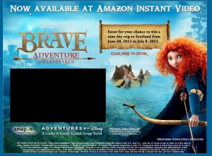 The Brave Adventure Sweepstakes - Enter Here for a Chance to Win an Adventures by Disney Trip to Scotland 1