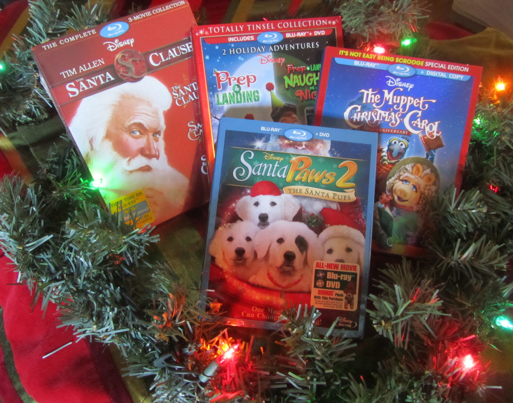 Disney Christmas Movie Gift Pack Giveaway