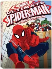Ultimate Spider-Man Avenging DVD box art