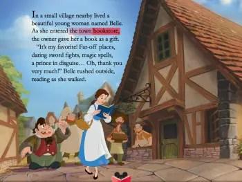 Belle storybook app