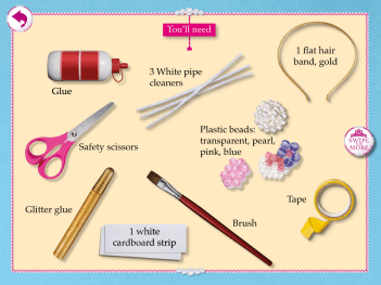 Royal Party craft page