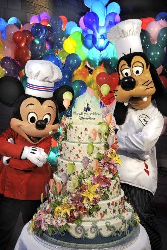 Celebrate Your Stay At WDW With A Great Disney Cake