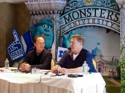 Monsters University Press Junket 1