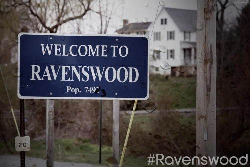 RAVENSWOOD SIGN