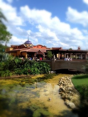 View of Mexico Pavilion at Epcot