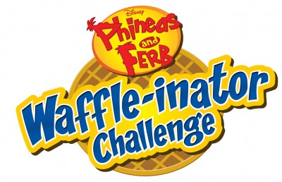 Phineas and Ferb Waffle-inator challenge logo