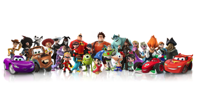 Disney Infinity Cast of Characters