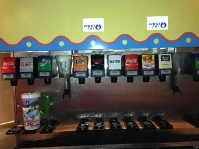 Rapid Fill Soda Machine