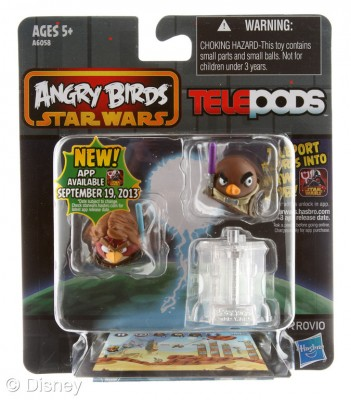 Angry Bids Telepods
