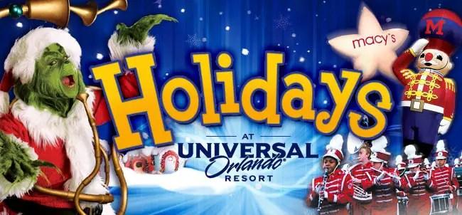 Holiday Celebration at Universal Orlando: December 5, 2015