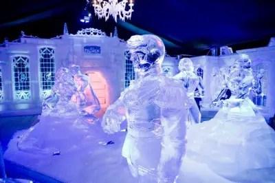 Frozen Inspired Ice Sculptures