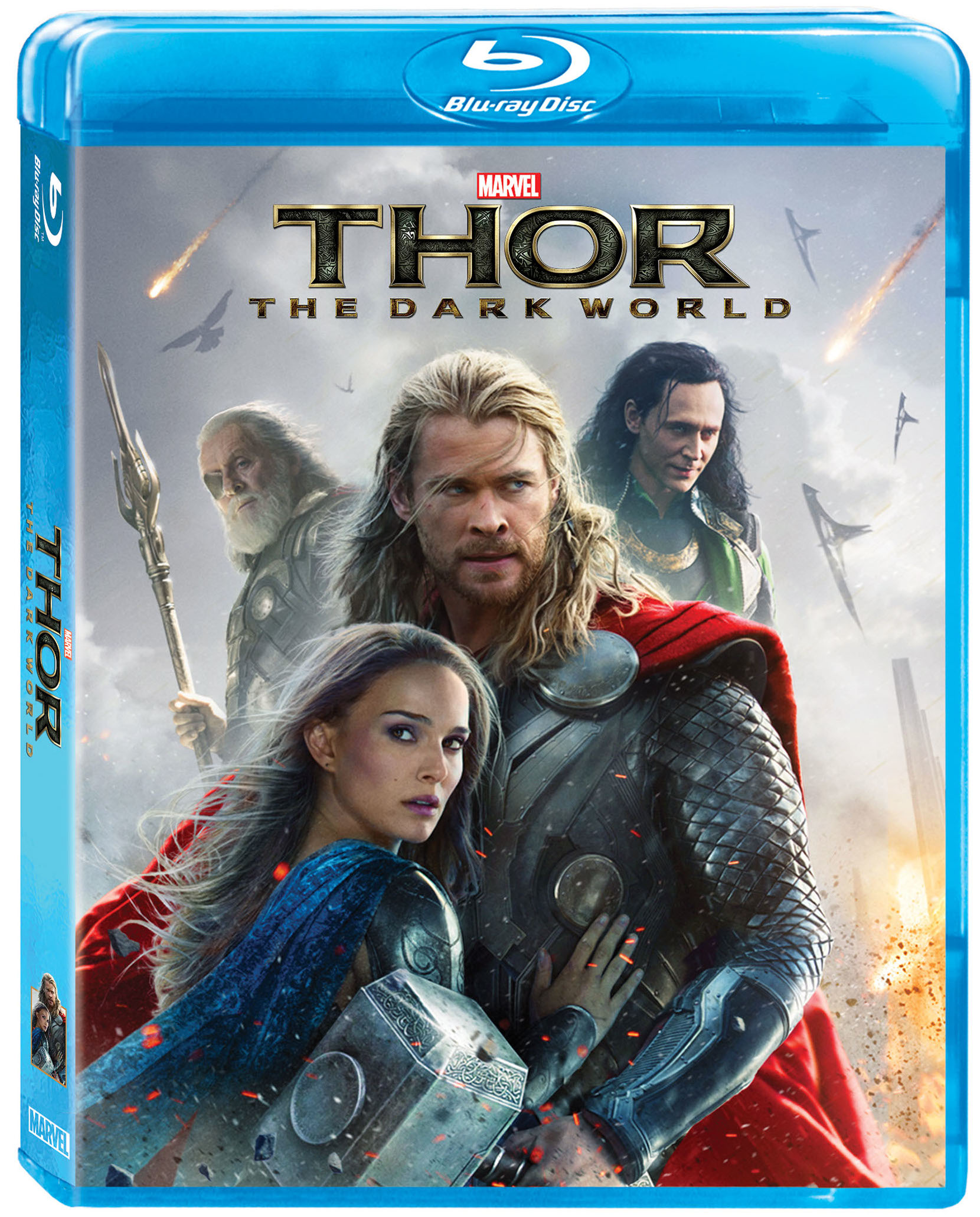 marvel's thor: the dark world coming to blu-ray/dvd, 3-d, and hd soon