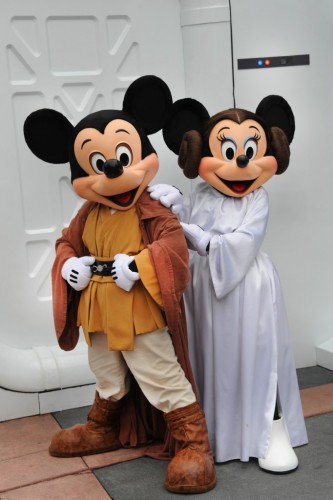 Mickey and Minnie Star Wars Weekends