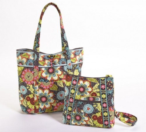 Mickey's Perfect Petals Tote and Hipster Bags