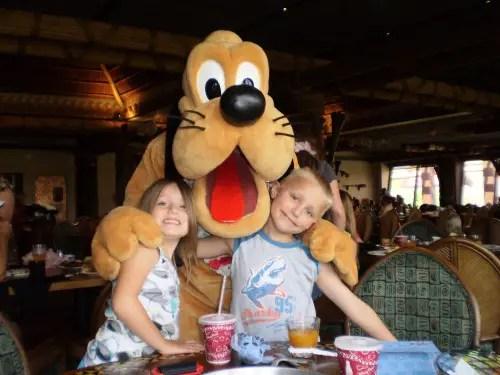 Pluto at 'Ohana