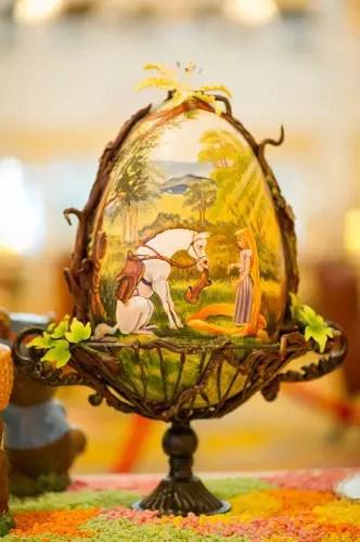 Rapunzel Easter Egg