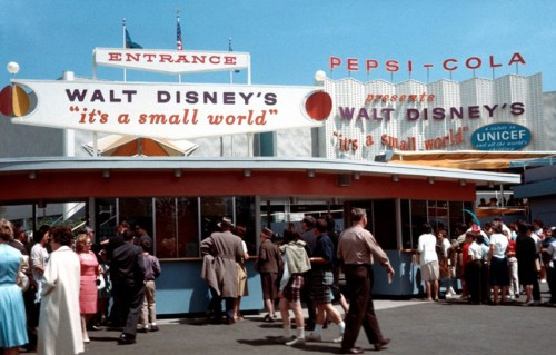 Vintage It's a Small World
