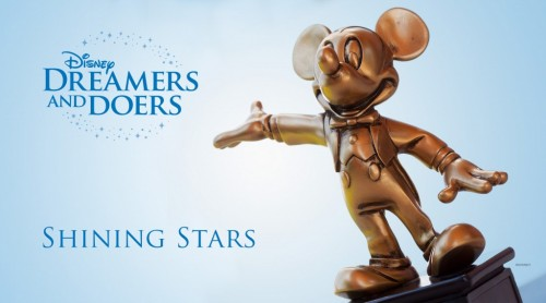 Disney Dreamers and Doers Shining Stars