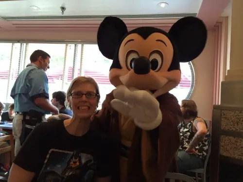 Hollywood & Vine Jedi Mickey