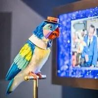 Walt Disney Museum-Tiki Bird-Exhibit
