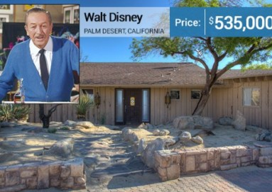 Photo by Mark Karlstrom, courtesy of listing agent Jason Evans of Coldwell Banker | Walt Disney: Disney/Associated Press
