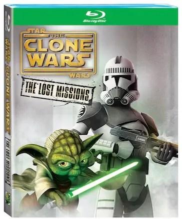 Star wars the clone wars blu-ray