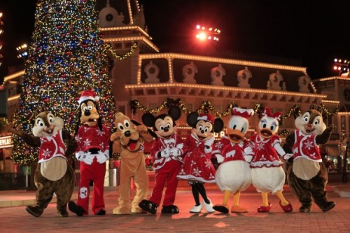 Hong Kong Disneyland Christmas