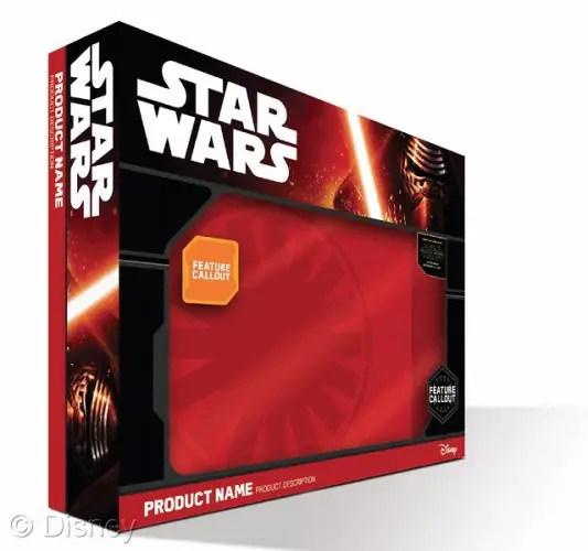 Star Wars packaging