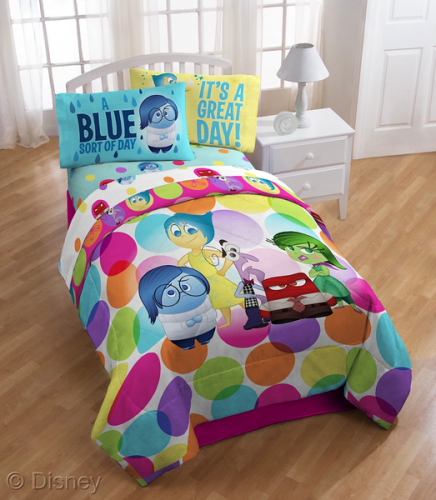 Inside out bed set and window drapes