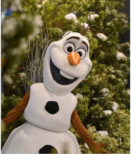 Olaf Frozen summer fun