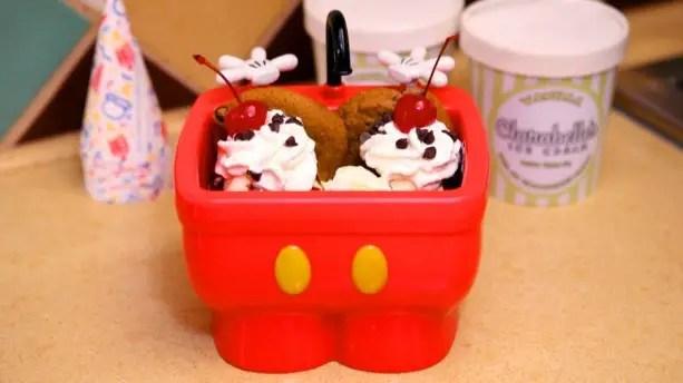 Disney Finds - Mickey Kitchen Sink Sundae