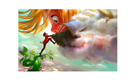 gigantic takes root at the d23 expo