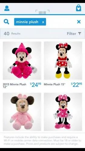 Shop Disney app 2