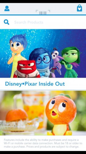 Shop Disney app 3