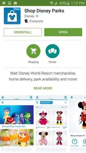 Shop Disney app 4