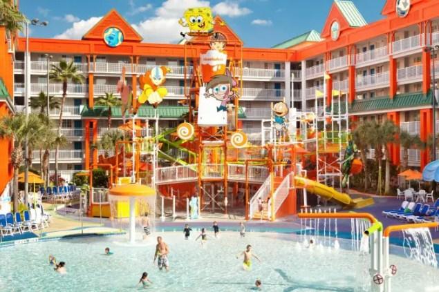 Nick Hotel Pool