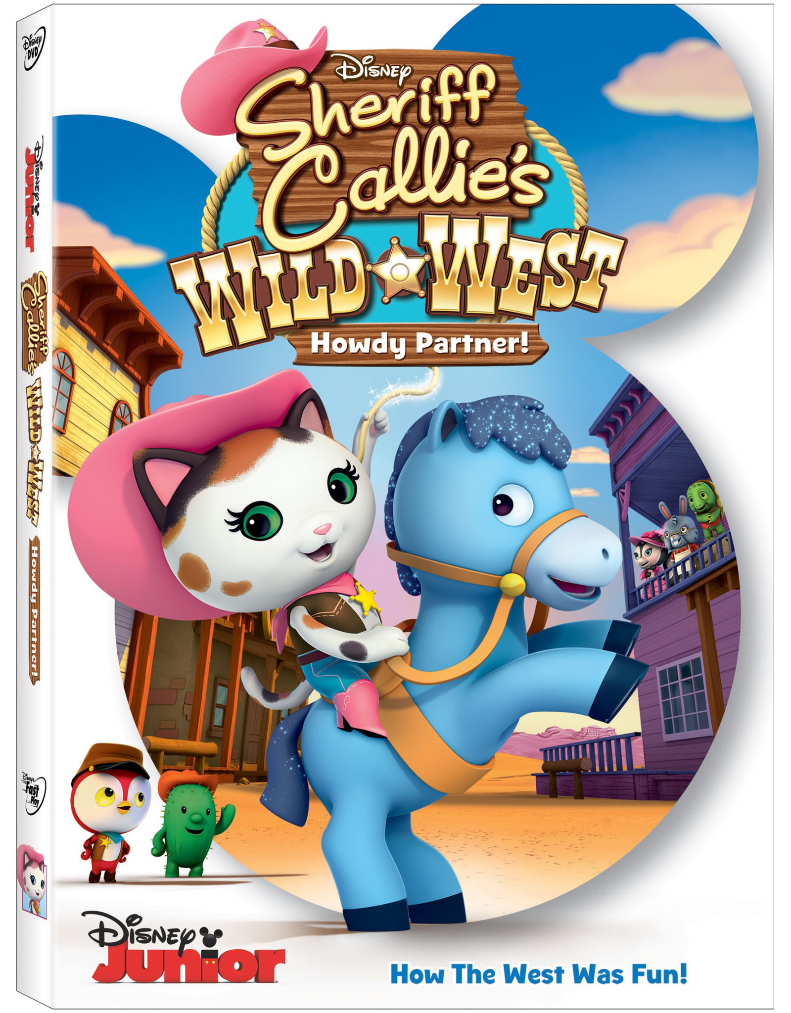 Sheriff Callie S Wild West Howdy Partner Dvd Is Riding