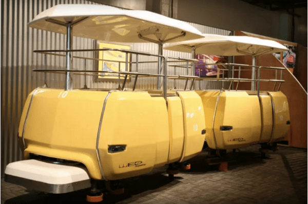 Yellow Disneyland PeopleMover Sold