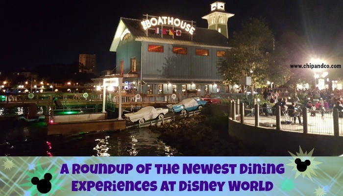 57fe365b59 A Roundup of the 10 Newest Dining Experiences at Disney World