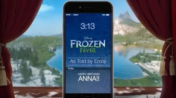 Frozen emoji