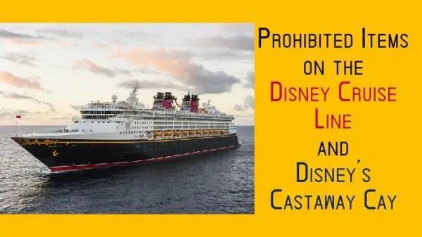 prohibited items