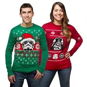 think geek star wars sweaters