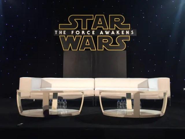Star wars press conferernce