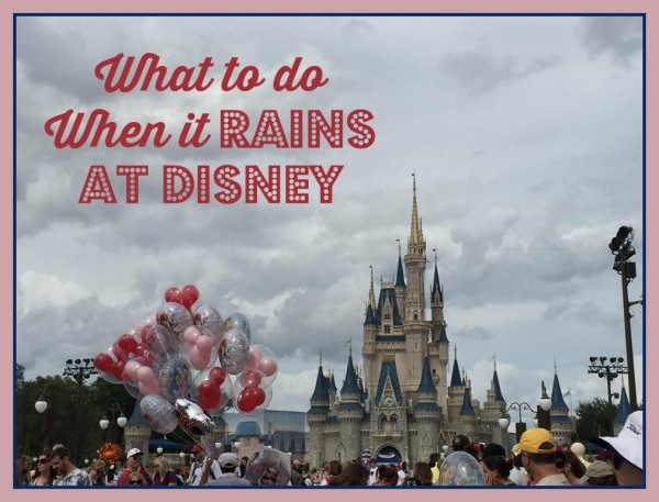 Magic Kingdom rain