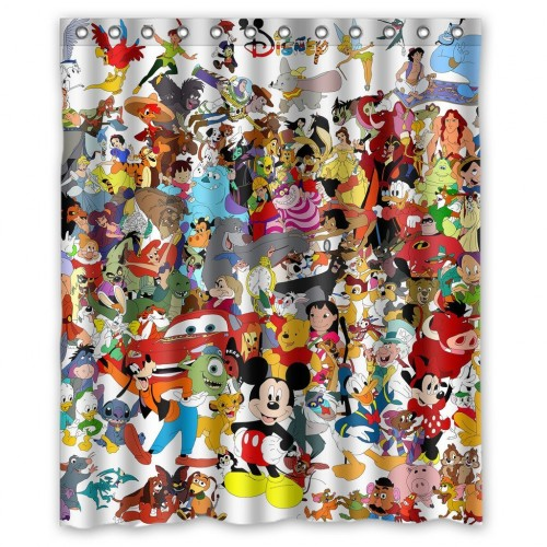 Must Have Disney Shower Curtains For Everyone